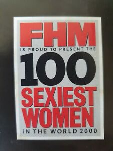 FHM 100 Sexiest Women In The World 2000, Supplement, Pullout