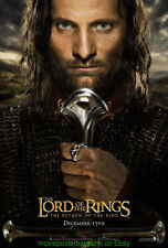 Lord Of The Rings Return Of The King Movie Poster Ds 27x40 Rare King Style