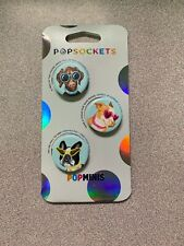 Popsockets Popminis Posh Pups Phone Grip Stand Holder