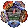 Central Florida Council Military Salutes Armed Forces CSP Patch Set Lot Jamboree