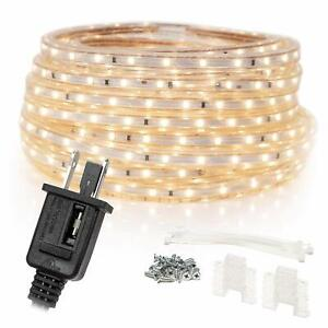 WYZWorks Warm White 30FT Extendable SMD 2835 LED Lighting Strip Indoor/Outdoor