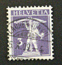Timbre SUISSE - Stamp SWITZERLAND - Yvert et Tellier n°129 (d) obl (Cyn15)