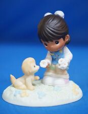 Girl Scout Daisies Sharing Heart Precious Moments Figure African American 104051