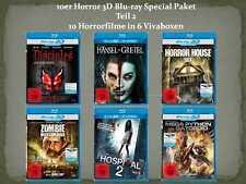 10er Horror 3D Blu-ray Special Paket Teil 2 (10 Filme) [FSK18] NEU+OVP