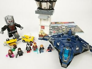 LEGO Marvel 76051 Super Hero Airport Battle complete minifigs Avengers Civil War