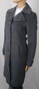Ralph Lauren Grey Wool Coat Jacket Trench Overcoat NWT $300
