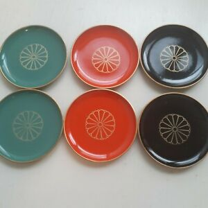 soy sauce dish set of 6 made in Japan