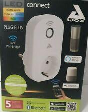GLO connect PLUG PLUS, Smart Home Stecker für Sprachsteuerung,