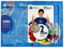 SAN MARINO 2 euro 2012 S/C  X Aniversario del Euro - set oficial