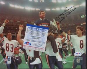 Mike Ditka 8 x 10 Chicago Bears Auto Autograph PSA/DNA Certified Authentic