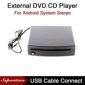 External DVD CD Player Case Box Device For Android Stereo Head Unit