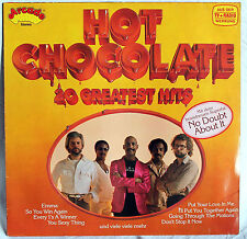 "12"" VINILE HOT CHOCOLATE - 20 Greatest Hits"