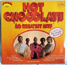"12"" VINILE HOT CHOCOLATE - 20 Greatest Hits"