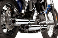 Cobra Race Pro Chrome Exhaust Mufflers For Harley Davidson FXD 91-17 6055