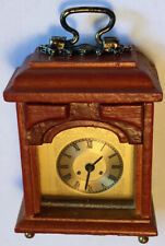 Dollhouse Mantle Clock by Reutter Porzellan of Germany