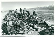 1991 Dessert Storm Bomb Fuses/Explosives Original News Service Photo