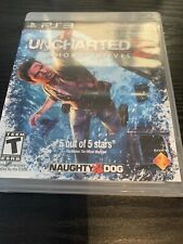 Uncharted 2: Among Thieves (Sony PlayStation 3, 2010) Complete with Manual PS3