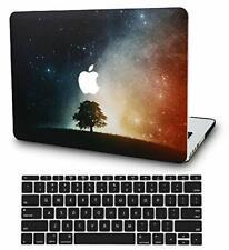 KECC MacBook Pro Retina 13 Inch Case (2015) w/ UK Keyboard Cover Plastic Hard