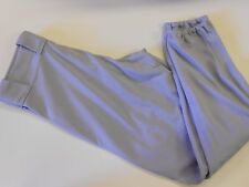 "NOS Vtg '80's Howe Men's Baseball Pants Medium 33""-34"" Waist Gray USA"