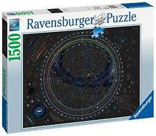 Ravensburger Jigsaw Puzzle MAP OF UNIVERSE  Galaxy Map Planets 1500 Piece