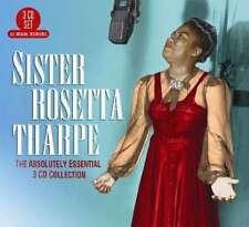 Tharpe Sister Rosetta - The Absolutely Essential 3 Cd NEW CD
