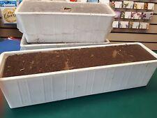 florist supplies foam filled troughs for artificial plants