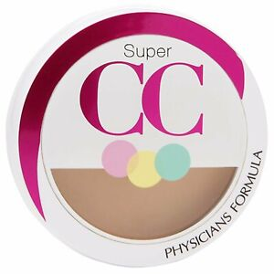 NIB Physicians Formula Super CC Correction Compact Cream Light Medium 6436 C