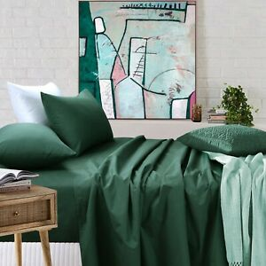 Breathable Summer Sheet Sets Single Double Queen King Super King Size Bedding