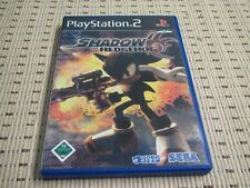 SHADOW the Hedgehog per PlayStation 2 ps2 PS 2 * OVP *