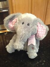 Cuddle Barn Ellie Elephant Animated Singing Do Your Ears Hang Low plush