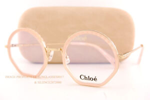 Brand New Chloe Eyeglass Frames CE 2143 601 Rose For Women 50mm