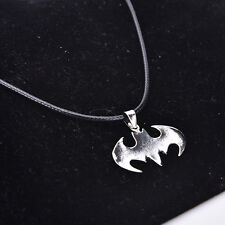 Cool Marvel Super Heroes Bat Stainless Steel Silver Fashion Pendant Necklace eCj