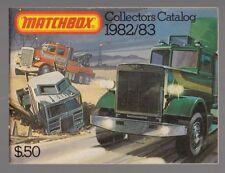 Matchbox Pocket Catalogue 1982/83 $.50 USA Edition Collectors Catalogue FREEPOST