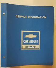 Werkstatthandbuch Chevrolet Caprice, Chevelle, El Camino u. Monte Carlo 1984