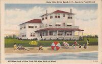Myrtle Beach, SOUTH CAROLINA - Harts Villa - ARCHITECTURE - 1946