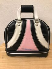 Nintendo Wii Sports Edition Brunswick Traveling Bowling Bag Carrying Case Pink