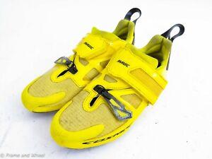 Mavic Cosmic carbon road cycling shoe men Euro 44 US 10 strap