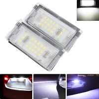 2pcs License Number Light LED Universal License Number Plate Light for Car UK