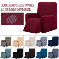 Waterproof Elastic Recliner Wing Chair Sofa Couch Soft Slipcover Cover Protector