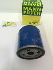 Filtro original de aceite Man W712/8 para vehículos, Peugeot, Citroën Fiat etc.
