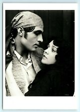 POSTCARD RUDOLPH VALENTINO LILA LEE DANCING