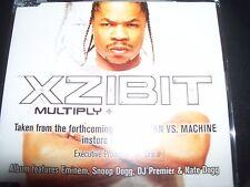 Xzibit Multiply Australian Promo CD Single – Like New