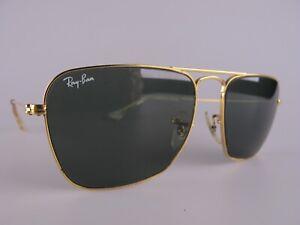 Vintage B&L Ray Ban USA Caravan Sunglasses Size 52-16 Men's Small