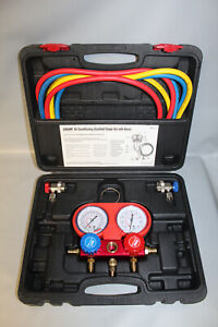 OEM 84661-AZ R134a AC Manifold Gauge Set with Hoses
