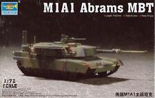 Trumpeter 1/72 US M1A1 Abrams MBT 07276