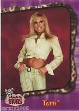 2002 Fleer WWE Absolute Divas #2 Terri near mint