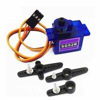 SG92R Carbon Mini Servo Motor Gear Analog Micro 9g For RC Q2Y7 2.5kg B Airp T1P4
