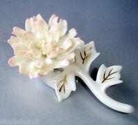 Lenox Peony Flower Ceramic Pin Brooch $29 Value New Box Mothers Day #826381 Collectibles Decorative Collectibles