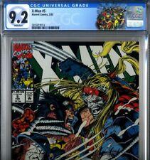 PRIMO:  X-MEN #5 OMEGA RED NM- 9.2 CGC Wolverine Marvel comics movie