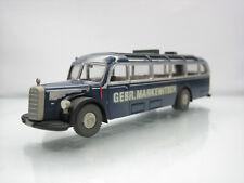 Brekina Mercedes 5000 Touring Bus Markewitsch Blue 1/87 Scale